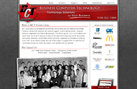 BCT Consulting web design thumbnail