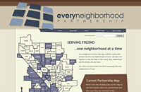 Every Neighborhood Partnership web design thumbnail