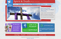 Spirit & Truth Publishing web design thumbnail