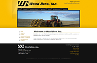 Wood Bros web design thumbnail